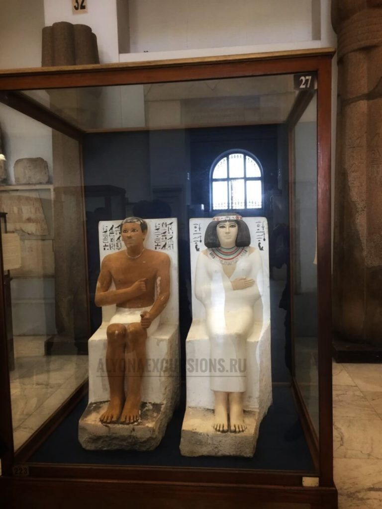 Египетский Национальный Музей изнутри