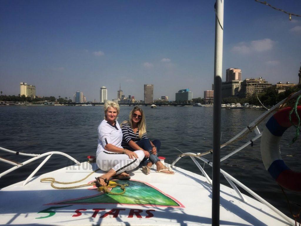 Экскурсия на катере по Нилу
