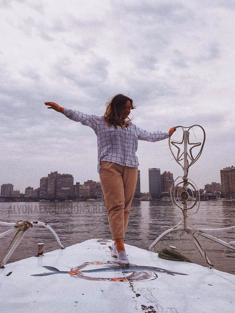 Катание на катере по Нилу