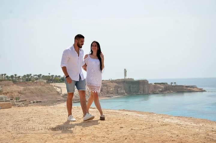 Фотосессия в Египте на море
