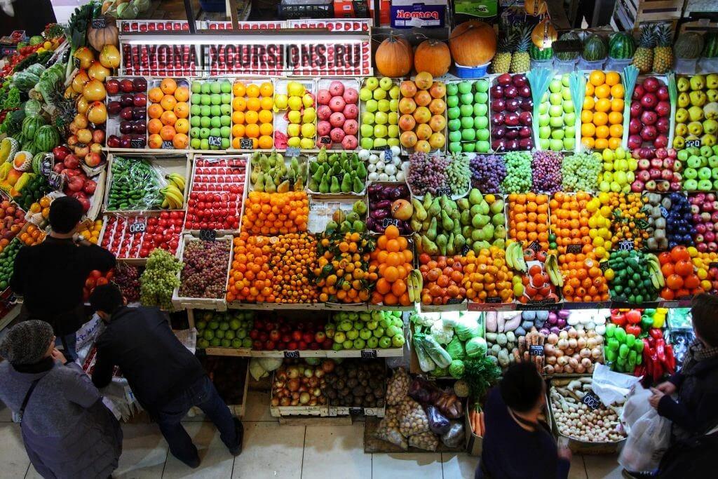 Фрукты в Египте, старый город -old market